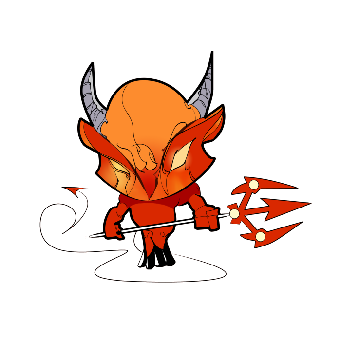 Old Scratch. The Devil. He's evil.