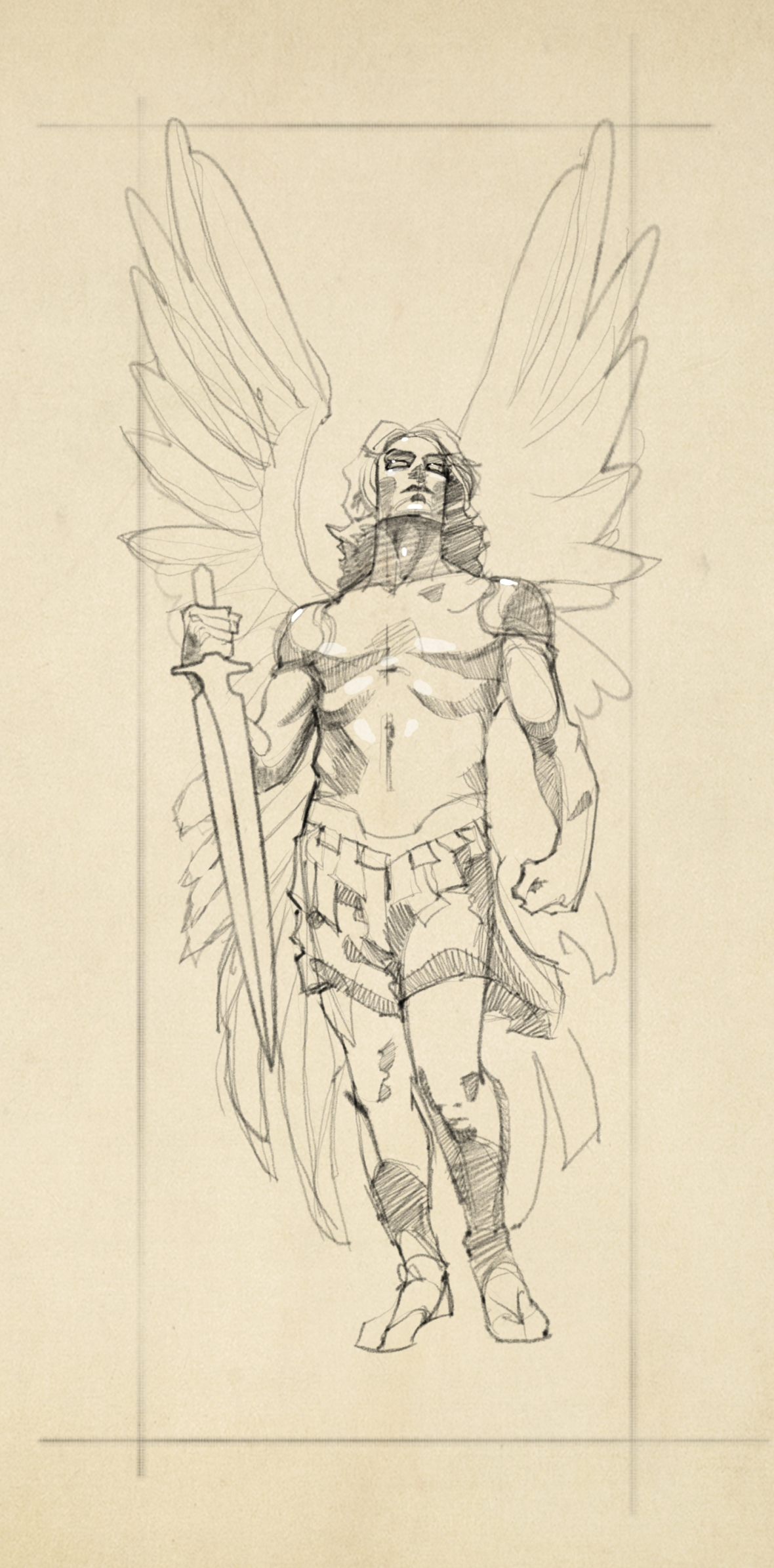 Arch Angel Michael Tattoo