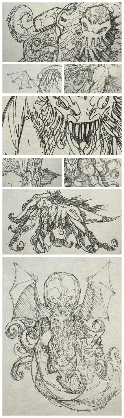 Crops of Cthulhus