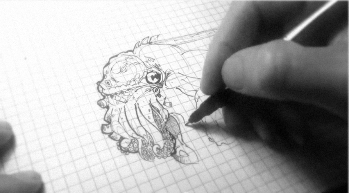Cthulhu Speed Sketch