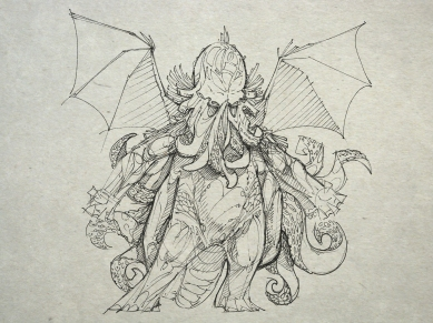 Cthulhu's parent is the androgynous deity Nagoob.
