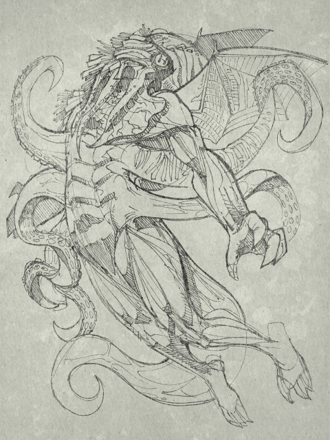 Cthulhu is described as being able to change the shape of its body at will, extending and retracting limbs and tentacles as it sees fit.