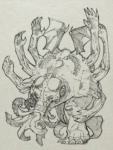 Cthulhu, they call me. Great Cthulhu.