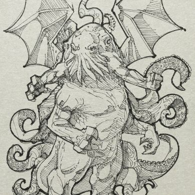 August Derleth, a correspondent of Lovecraft, used the creature's name to identify the system of lore employed by Lovecraft and his literary successors: the Cthulhu Mythos.