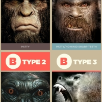 The 4 types of Bigfoot