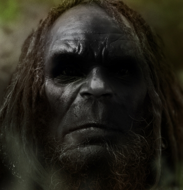Bigfoot Face   SasquatchxSatanfudge