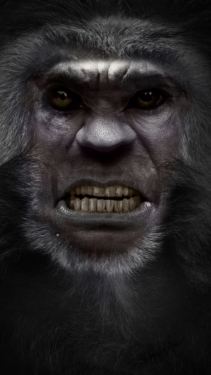 Bigfoot Face | SasquatchxSatanfudge