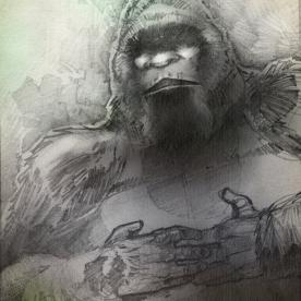 Bigfoot Sketch