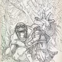 Humbaba & Gilgamesh