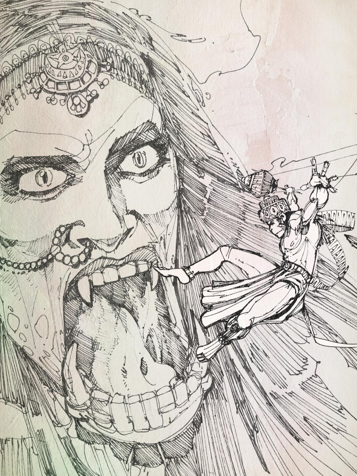 Hanuman-RiverDemon-1