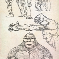 Bigfoot Sketches