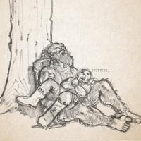 D&D Campaign Sketch | Momo & Pintor Salvo