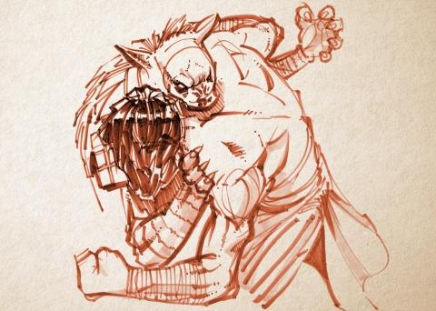 Gnoll def. Bigfoot