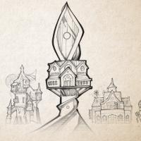 D&D Campaign Sketch | Windhollow Temple